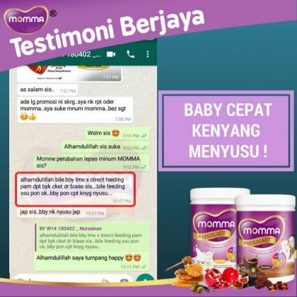 Momma Pregolact Pregnancy & Lactation Milk (Chocolate - 21 sachets ) - New Packaging