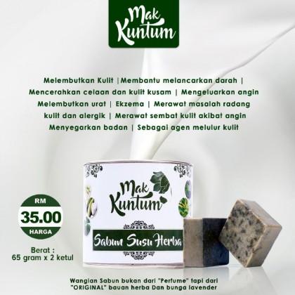 Sabun Susu Herba Mak Kuntum (2pcs per pack)
