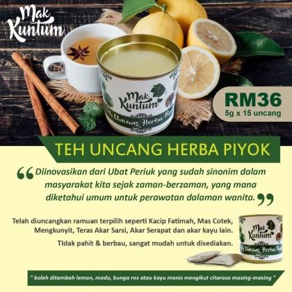 Mak Kuntum: Teh Uncang Herba Piyok